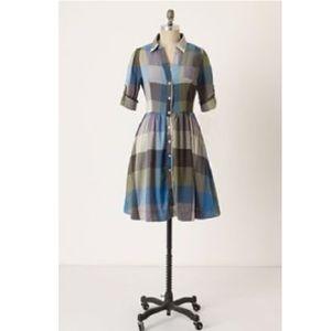 EUC Reed Shirt Dress